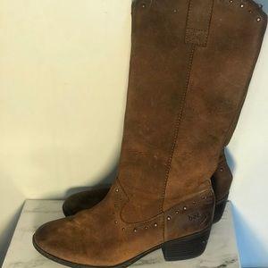 BOC Leather Cowboy Boot